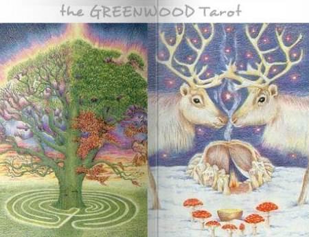 Greenwood Tarot ~ mag ichSEHR