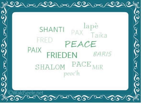 Frieden IN uns kultivieren. Jede/r trägt VerANTWORTung ~JETZT!